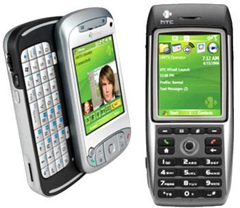 Các smartphone của HTC đều sử dụng hệ điều hành Windows Mobile. Ảnh: Cnet.