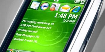 Windows Mobile 6, phiên bản mới nhất hỗ trợ multimedia mạnh. Ảnh: Krunker.