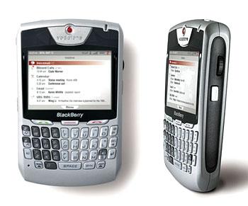 Thiết bị BlackBerry. Ảnh: Gizmodo.