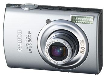 IXUS 860 IS là phiên bản nâng cấp của IXUS 850 IS. Ảnh: Dpreview.