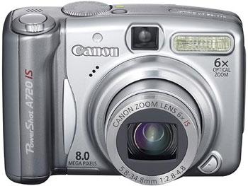 PowerShot A720 IS có khả năng chụp ảnh dưới nước sâu 40 mét. Ảnh: Cnet.