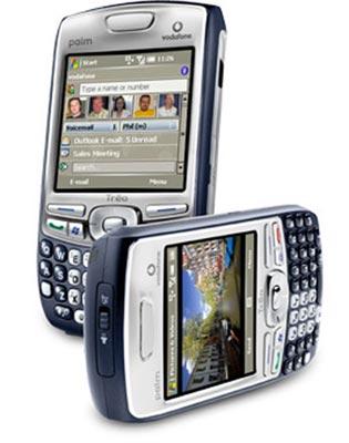 Treo 750 kết hợp giữa Palm và Windows Mobile. Ảnh: Mobil.