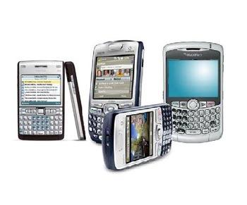 Smartphone hỗ trợ tốt công việc doanh nhân.
