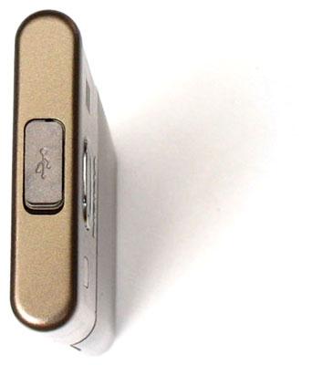 Cổng Mini USB lại nằm trên đỉnh máy. Ảnh: Mforum.