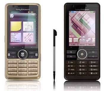G700i và G900 đều có màn hình cảm ứng. Ảnh: Gsmarena.