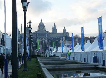 Barcelona địa điểm tổ chức