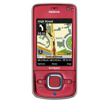 Nokia 6210 Navigator, mẫu điện thoại tích hợp GPS mới. Ảnh: Nokia.