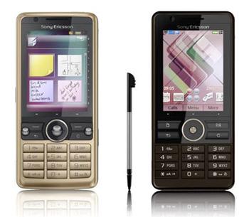 Điện thoại dòng G của Sony Ericsson có giao diện màn hình cảm ứng. Ảnh: Gsmarena.