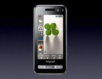 Samsung Anycall Haptic có giá bán từ 700 đến 800 USD. Ảnh: Engadget.