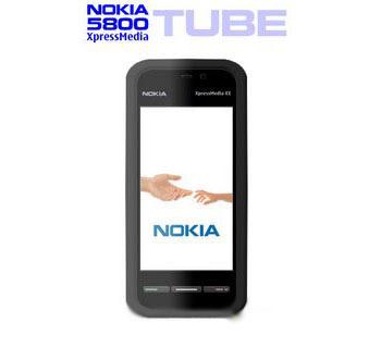 Thiết kế màn hình cảm ứng rộng của 5800 XpressMedia. Ảnh: Nokiaport.
