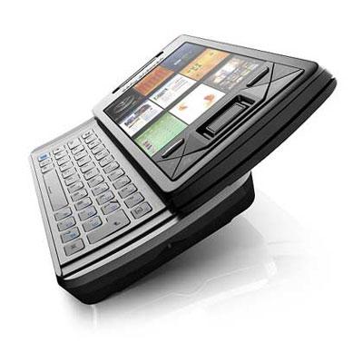 Sony Ericsson X1 được trang bị bàn phím Qwerty. Ảnh: Cnet.
