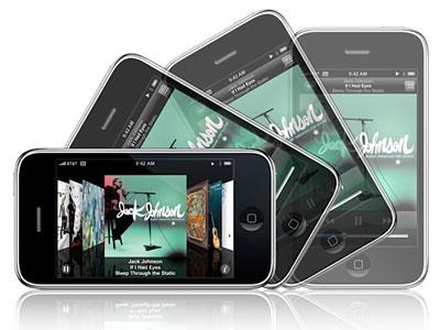 iPhone 3G có thiết kế đẹp, kết nối tốc độ cao. Ảnh: Apple.