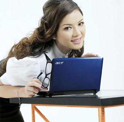 Aspire One của Acer có mặt ở Việt Nam trước cả các thị trường châu Âu và Mỹ. Ảnh: Acer Việt Nam.
