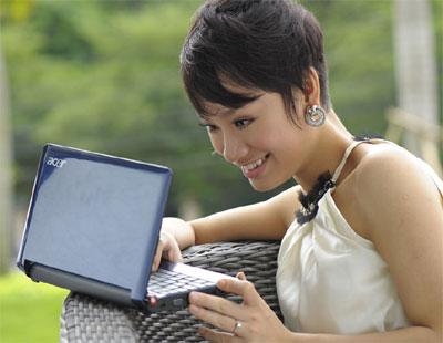 Acer Aspire One có mặt tại Việt Nam trước cả các thị trường châu Âu và Mỹ. Ảnh: Acer Việt Nam.