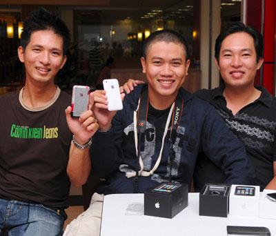 iPhone mới đã có mặt tại TP HCM.