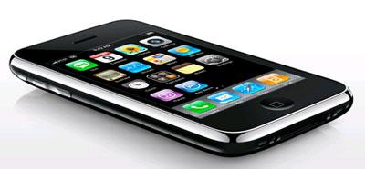 iPhone 3G duyệt web nhanh so với EDGE bản trước. Ảnh: Apple.