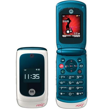 EM28 nổi bật với thiết kế gập và phím bấm chơi nhạc cảm ứng. Ảnh: Slashphone.
