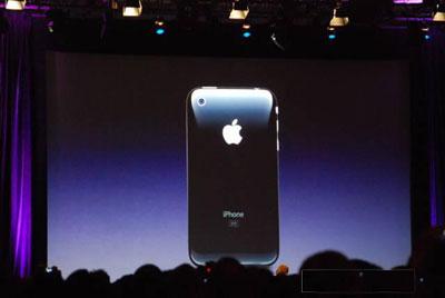 Thiết kế đẹp đã giúp iPhone 3G lọt vào bình chọn của phái mạnh. Ảnh: Macrumor.