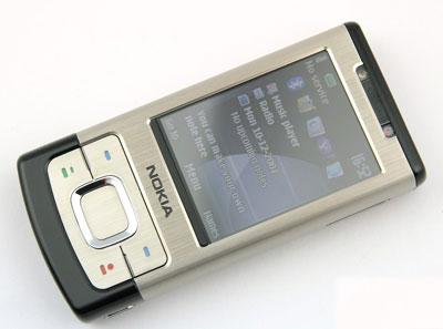 Nokia 6500 Slide thiết kế thời trang. Ảnh: Gsmarena.