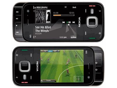 Nokia N85 mạnh mẽ về tính năng giải trí. Ảnh: Mobilejazz.