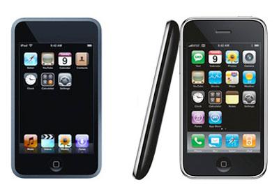 Tốc độ xử lý của iPod Touch mới nhanh hơn iPhone. Ảnh: Reemixx.