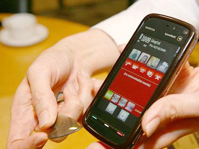 Nokia 5800 XpressMusic là điện thoại đáng chú ý nhất tháng 12. Ảnh: Cnet.