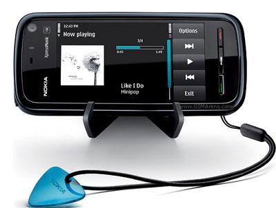 Nokia 5800 có pin tốt, nhiều tính năng cơ bản. Ảnh: Cnet.