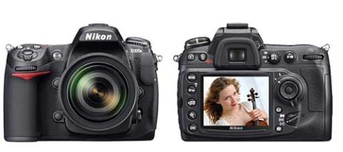 Nikon D300s với màn hình LCD 3 inch sáng, phân giải cao và viewfinder độ phủ chuẩn 100%. Ảnh: Wired.