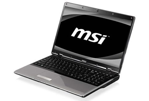 Model CR720 của MSI. Ảnh: Notebookcheck.