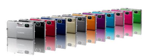 FP3 và FP1 đều là máy thời trang nhiều màu sắc.