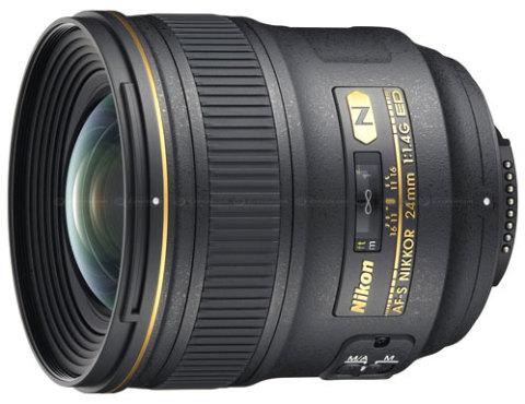 AF-S Nikkor 24mm f/1.4G ED có giá dự kiến đến 2.200 USD. Ảnh: Dpreview.