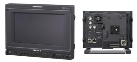 Màn hình OLED 7.4 inch của Sony với các cổng kết nối nằm phía sau. Ảnh: Sonyinsider.