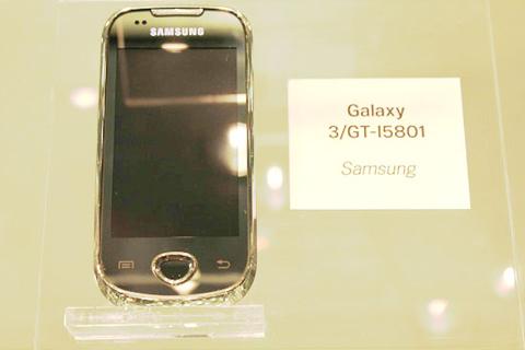 I5801 còn gọi là Galaxy 3. Ảnh: Phandroid.