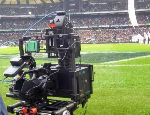 Hệ thống máy quay chuyên dụng hiện đại của Sony tại World Cup năm nay. Ảnh: Gizmodo.