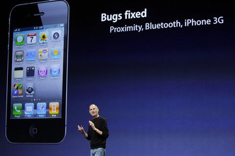 iOS 4 chủ yếu cải thiện tốc độ và thêm một vài tính năng mới. Ảnh: Reuters.