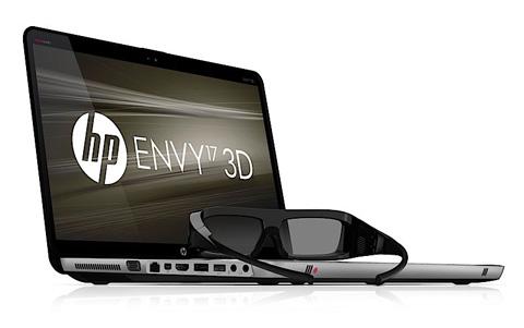 HP Envy 17 3D.