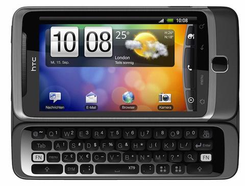 HTC Desire Z với bàn phím QWERTY