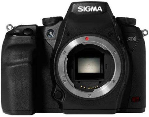 DSLR SD1 của Sigma sử dụng cảm biến Foveon. Ảnh: Photographyblog.