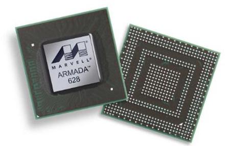 Chip 3 nhân dành cho smartphone của Marvell.