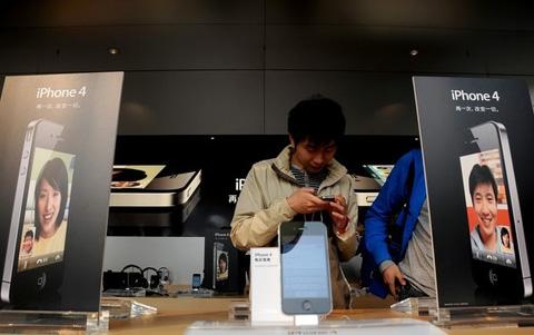 iPhone - biểu tượng của sự phát triển smartphone. Ảnh: Daylife.
