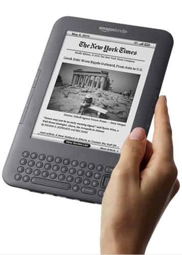 E-book reader Kindle 3 Wi-Fi đang