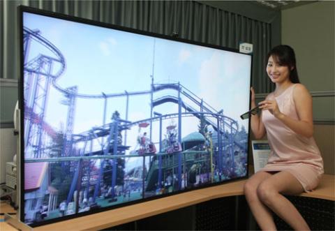 Sản phẩm sở hữu kích thước 70 inch với độ phân giải lên tới 8 triệu điểm ảnh, gấp 4 lần độ phân giải FullHD 1080p hiện nay. Ảnh: samsunghub.