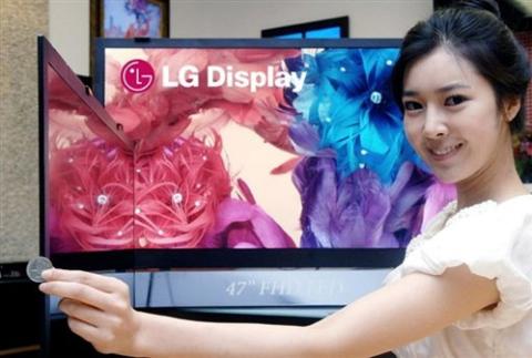 Samsung vẫn là số một về TV LCD trong khi LG và Sony lần lượt giữ các vị trí thứ hai và thứ ba trong làng TV LCD. Ảnh: Aving.