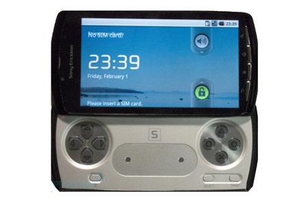 Một trong những hình ảnh được cho là điện thoại PlayStation. Ảnh: EnGadget.