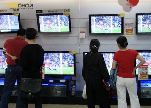 Giá LCD trong tháng 12 giảm mạnh so với một tháng trước đó. Ảnh: T.Anh
