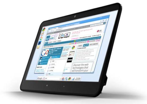 Máy tính bảng HTC nhiều khả năng sẽ mang tên Scribe. Ảnh minh họa.