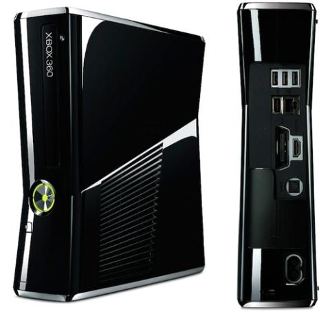 Xbox 360 Slim, phiên bản Xbox mới nhất của Microsoft đã ra mắt vào giữa năm 2010. Ảnh: Microsoftxbox.