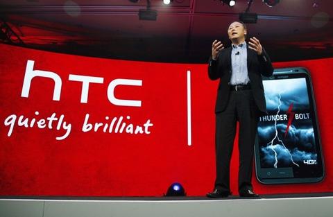HTC tăng doanh số năm 2010 gần 2 lần năm 2009. Ảnh: Daylife.