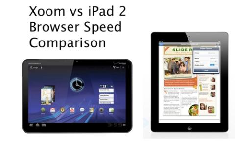 iPad 2 và Motorola Xoom cùng sử dụng chip xử lý lõi kép tốc độ 1GHz. Ảnh:Zollotech.