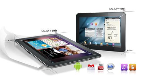 Bộ đôi Galaxy Tab mới với kiểu dáng cuốn hút và cấu hình mạnh mẽ.